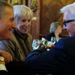 Günter Berg, Barbara Kisseler, Frank-Walter Steinmeier